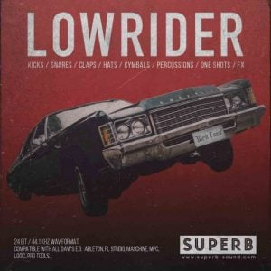 West Coast Drum Kit Lowrider